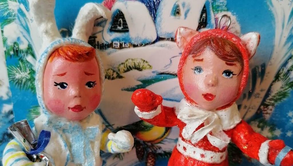 Жительница Тверской области создает уникальные игрушки из ваты - новости Афанасий