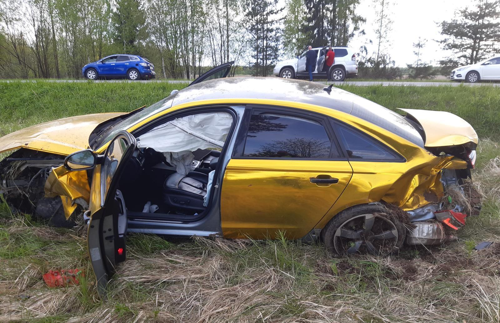 В Тверской области будут судить владельца золотой Audi  - новости Афанасий