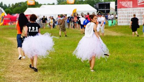 На фестиваль «Нашествие 2015» приехали более тридцати тысяч человек / фото
