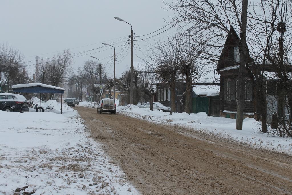 Большинство жалоб о плохой уборке снега в Тверской области поступило из Кимр, Кашина и Твери