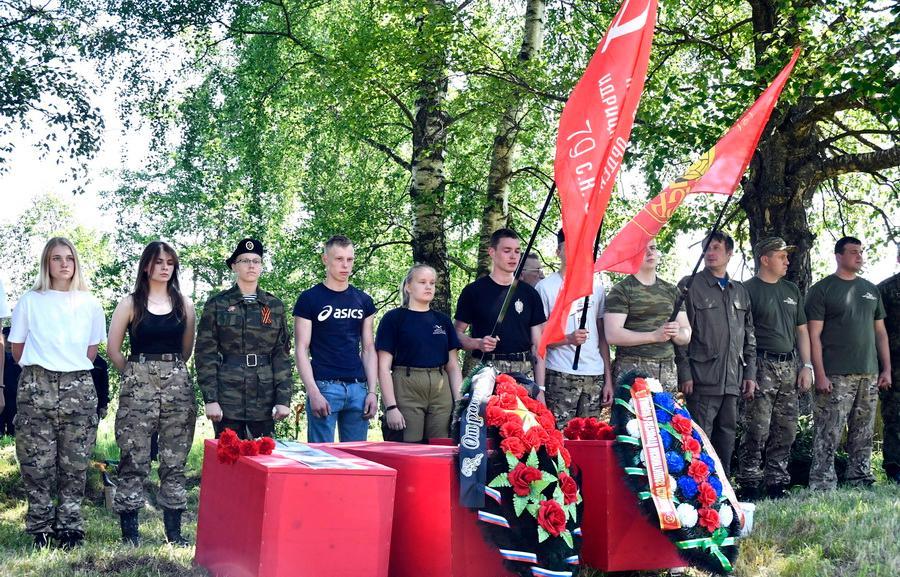 В Старицком районе прошло перезахоронение тридцати двух красноармейцев  - новости Афанасий