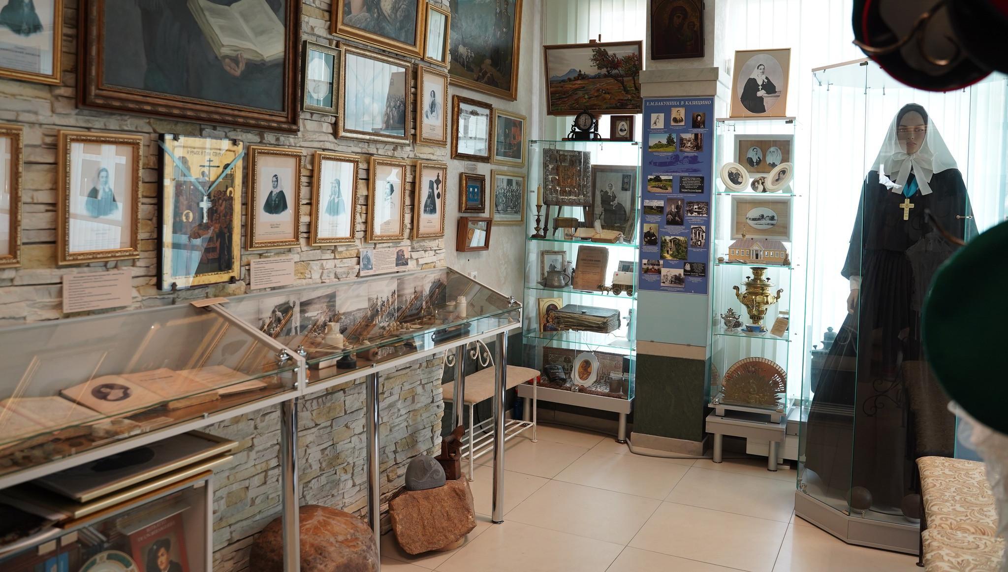 В Твери открыли расширенный музей сестры милосердия Екатерины Бакуниной - новости Афанасий