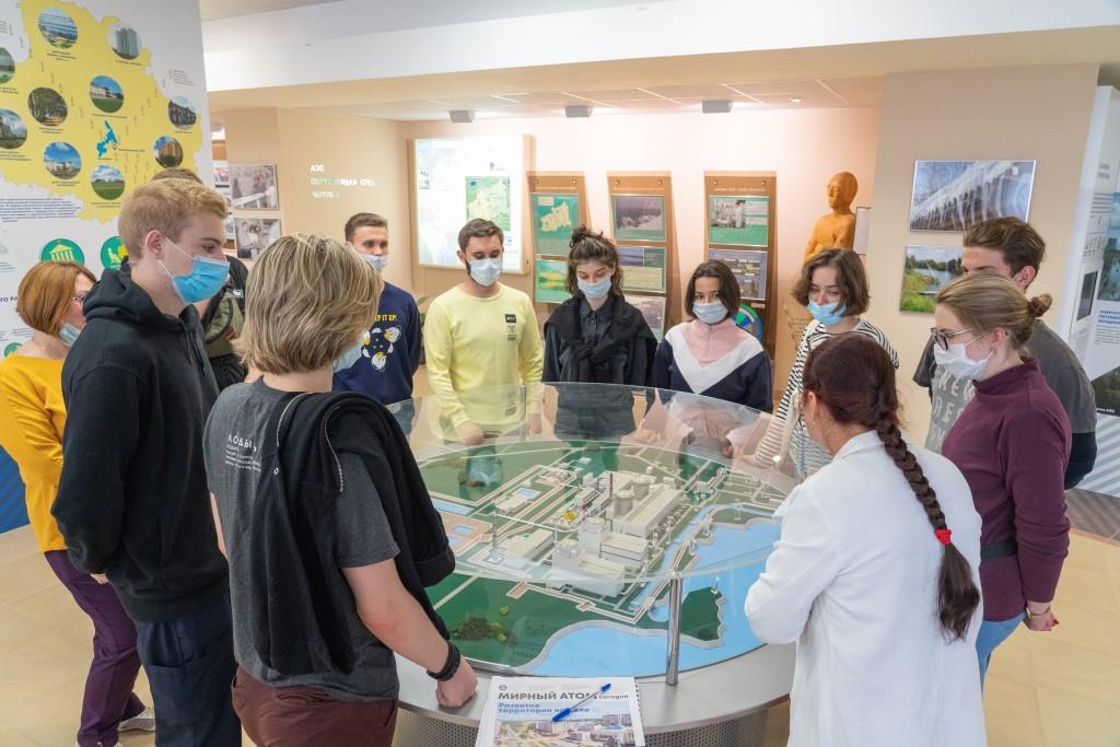 Студенты медицинских вузов Санкт-Петербурга познакомились с работой Калининской АЭС
