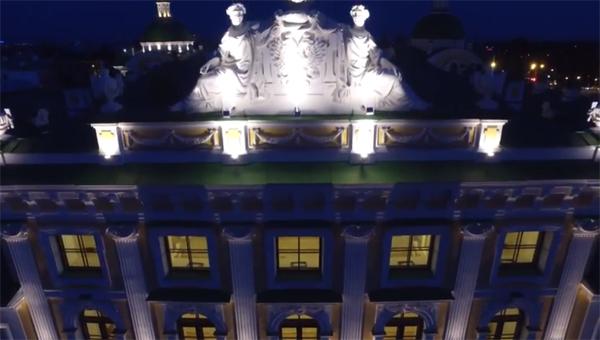 В сети появилась видеопрезентация Тверского императорского дворца после реставрации