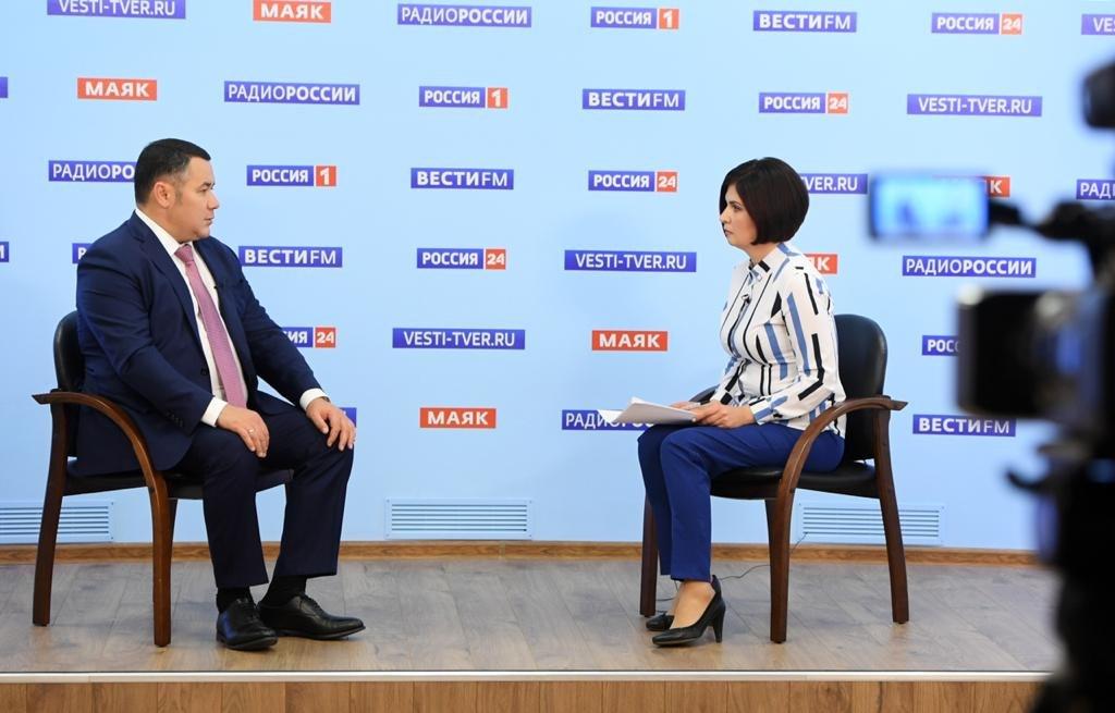 Игорь Руденя: эпидемиологическая ситуация в Тверской области находится под контролем - новости Афанасий