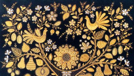 Торжокские золотошвеи одержали победу на Всероссийской выставке-ярмарке «Ладья. Зимняя сказка-2011»