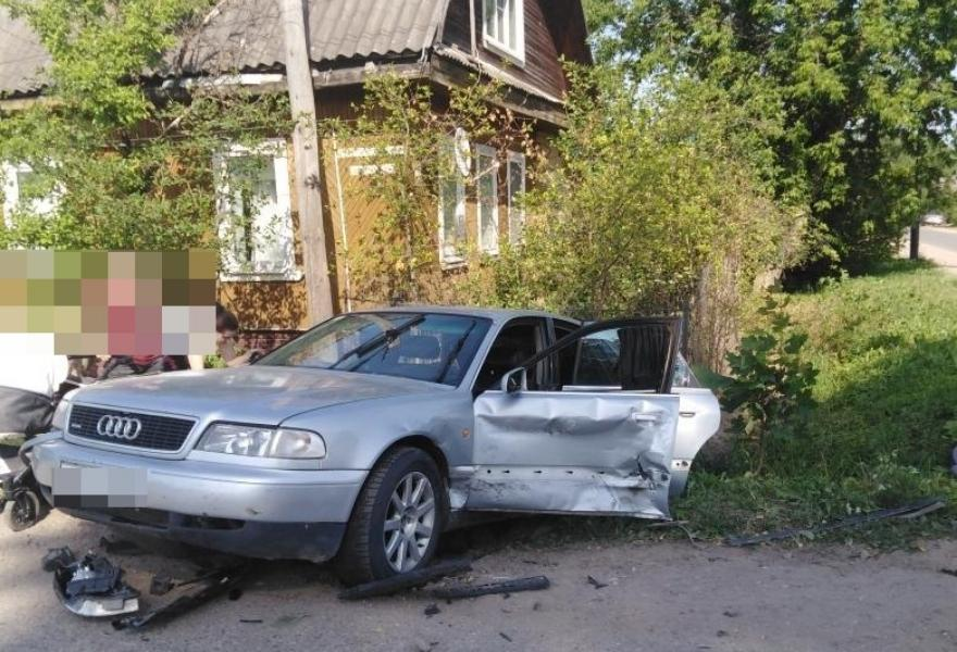 Шестимесячный малыш получил травмы в ДТП в Тверской области