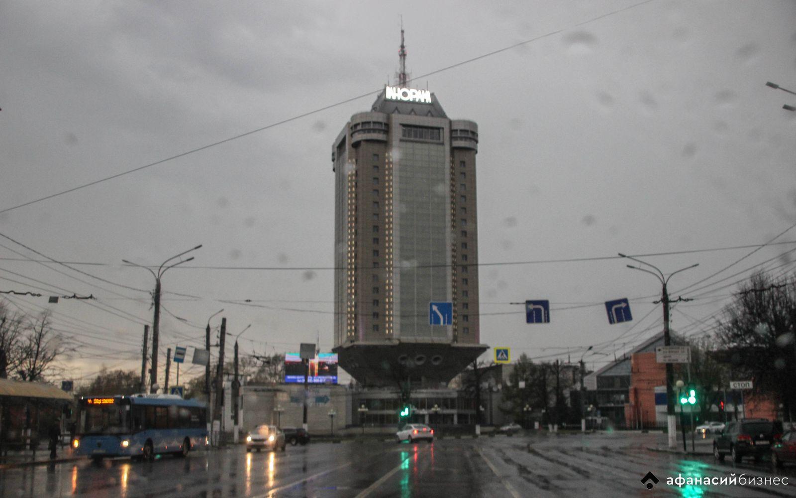 На Тверскую область идет сильный дождь с ветром
