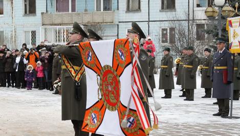 Военной академии ВКО имени Жукова вручено Боевое знамя нового образца