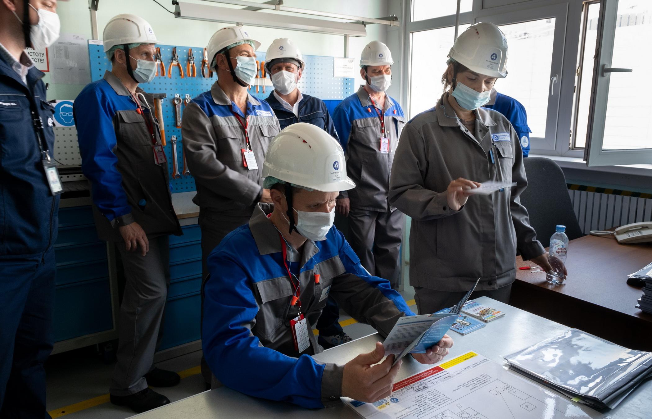 На Калининской АЭС специалисты производственного объединения «МАЯК» прошли стажировку по вопросам управления охраной труда - новости Афанасий