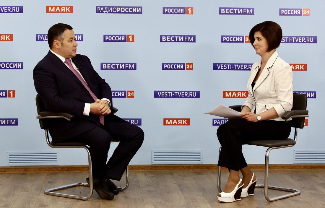 Игорь Руденя расскажет о дорогах, прививках и учебе в прямом эфире - новости Афанасий