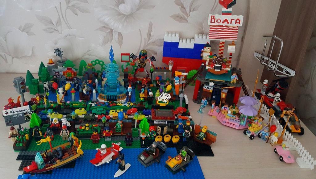 В Ржеве выбрали лучшие проекты Парка Подпольщиков из Lego - новости Афанасий