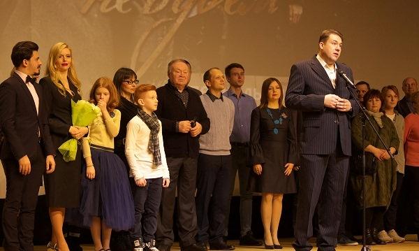 С размахом в Твери прошел предпремьерный показ фильма о военном Калинине «Прощаться не будем» / фото