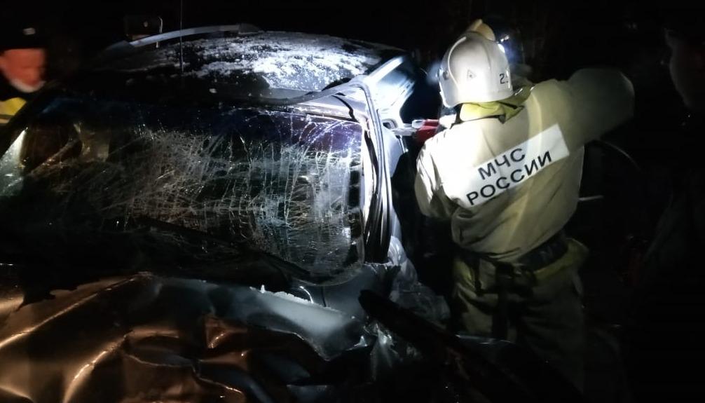 В Тверской области столкнулись рейсовый микроавтобус и легковушка, есть пострадавшие - новости Афанасий