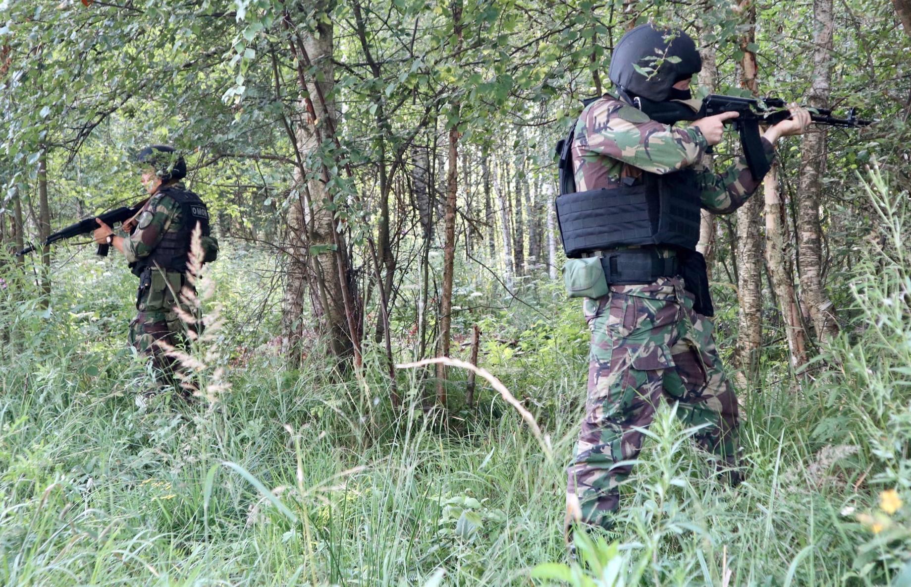 Под Тверью прошли тактические учения бойцов спецназа - новости Афанасий