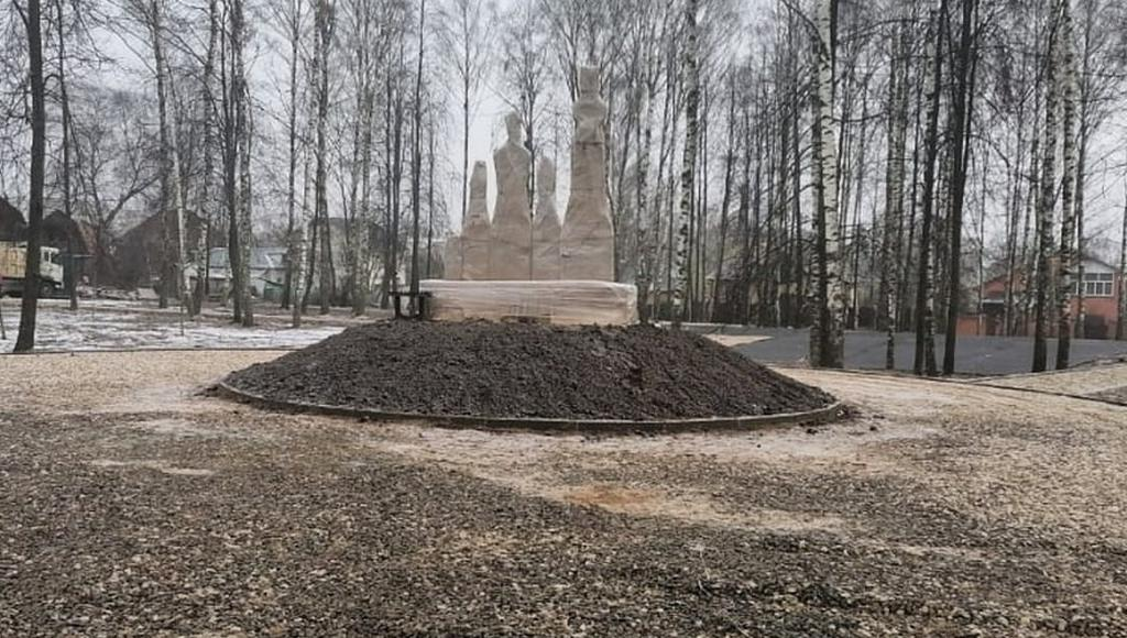 В Конаково Тверской области устанавливают скульптурную композицию в память о затопленном городе - новости Афанасий