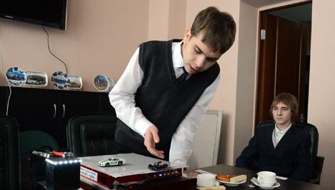 Андрей Епишин встретился с учениками тверской школы №17
