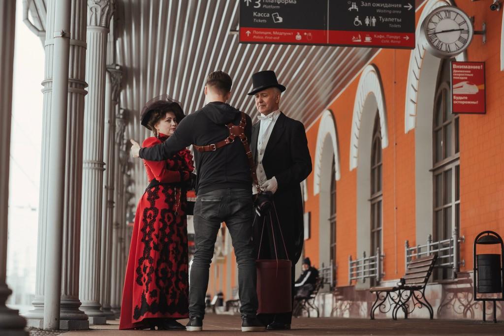 Железнодорожный вокзал Твери стал главным героем исторического фильма