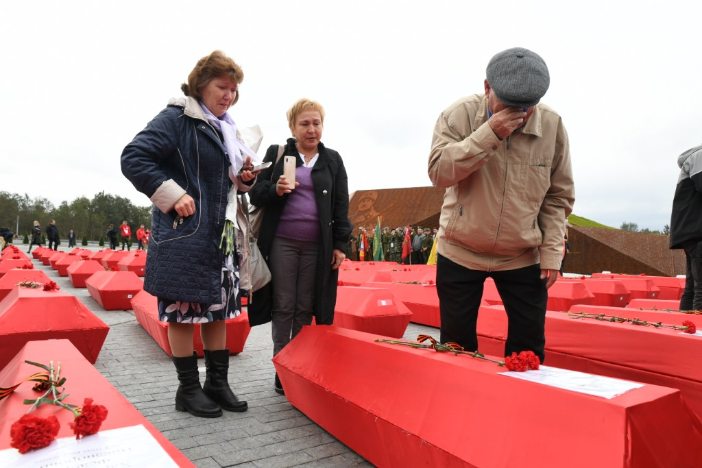 Поисковики нашли останки 700 солдат в ходе экспедиции «Ржев. Калининский фронт» - новости Афанасий