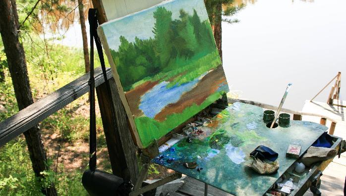 Молодые художники Москвы и Твери отправятся на совместный пленэр в Домотканово