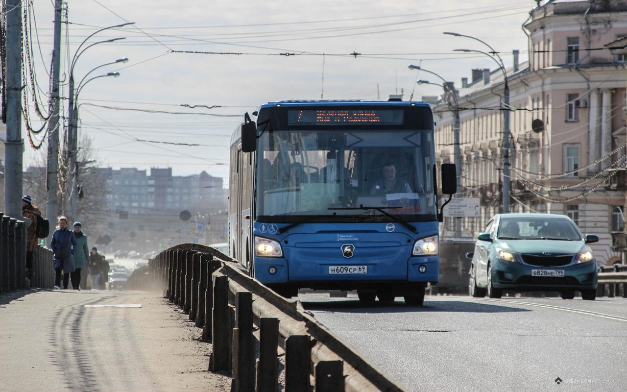 Новые автобусы поедут еще по трем маршрутам Твери - новости Афанасий