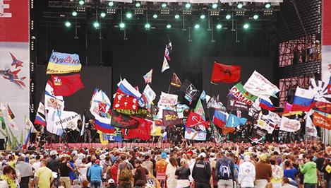 «Нашествие - 2014» официально открыто: «Кукрыниксы» и «Пикник» уже отыграли, впереди ДДТ и «Би-2» / фоторепортаж
