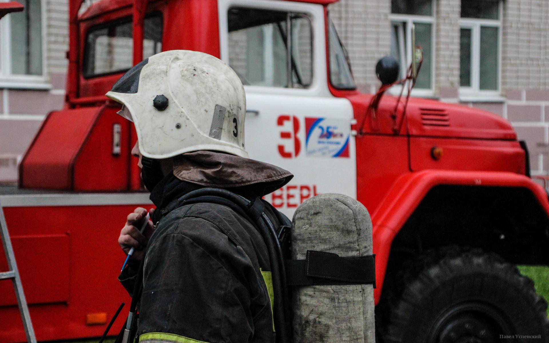 В Твери пожарные помогли застрявшей на дереве девочке - новости Афанасий