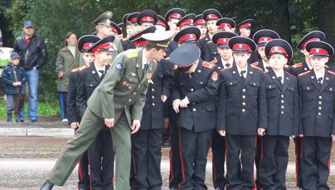 Тверские суворовцы стали победителями Всеармейской олимпиады
