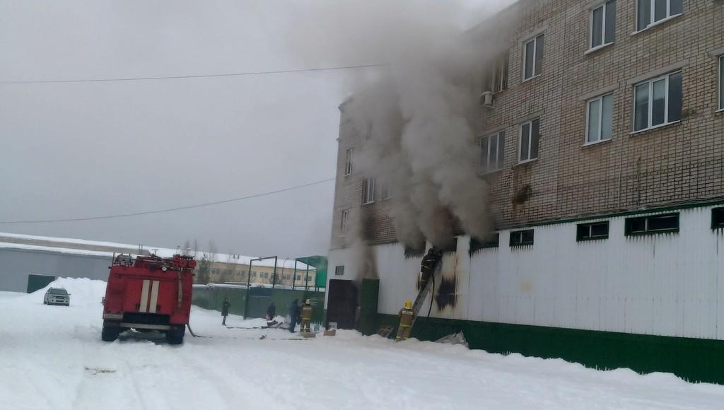 Пожар на складе с обувью произошел в Кимрах Тверской области - новости Афанасий