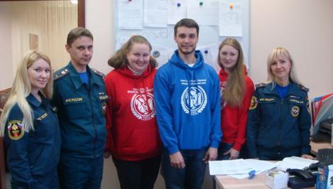 Тверские студенты обучались психологической помощи у спасателей