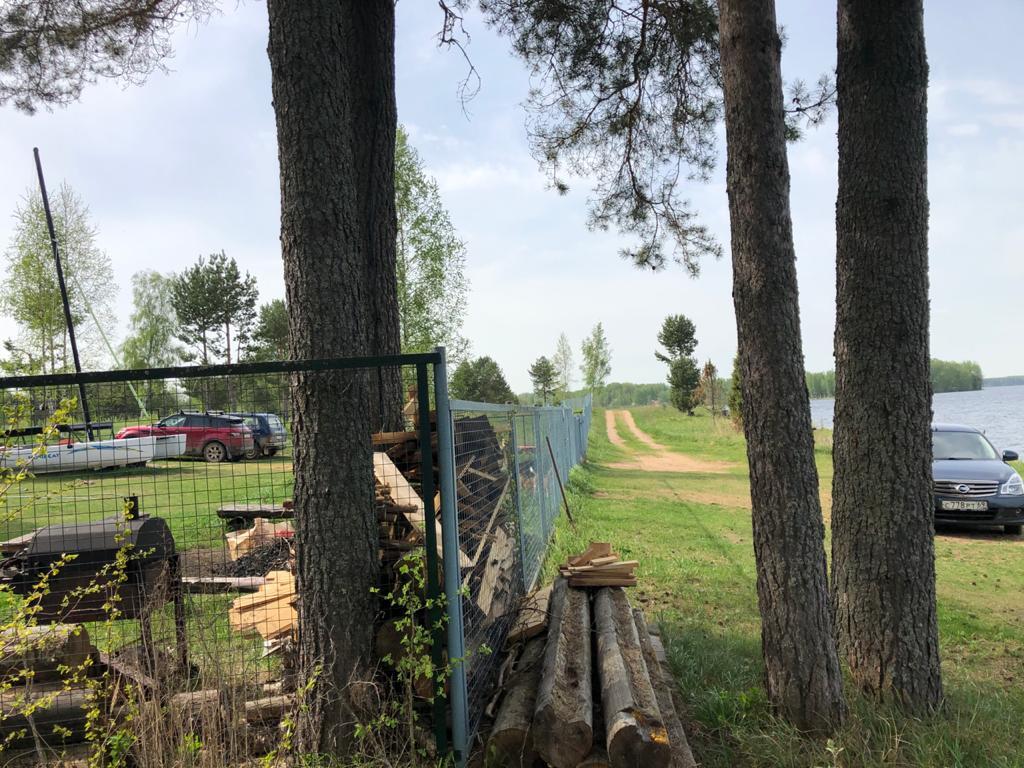 На озере Волго в Тверской области обнаружили незаконный захват берега