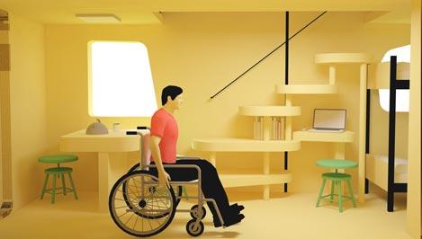 Тверские студенты создают мобильные дома для людей с ограниченными возможностями / фото