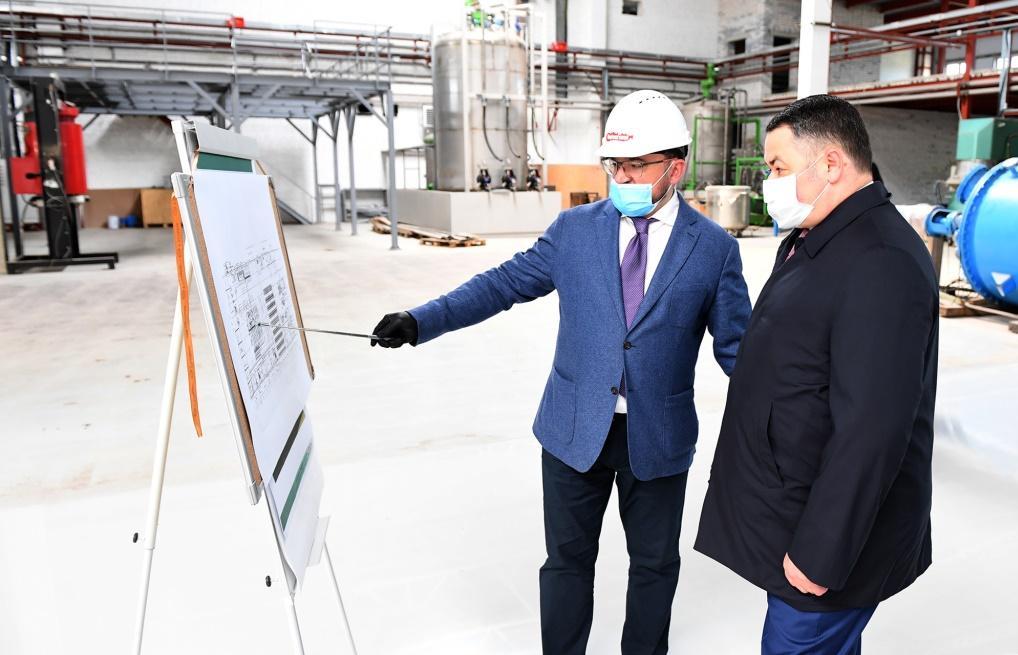 Два крупных предприятия строятся в Тверской области - новости Афанасий