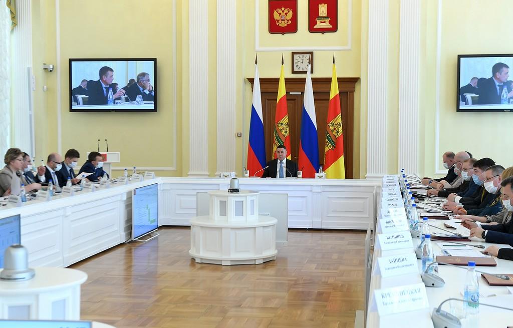 В 2021 году в Тверской области 96 общественных территорий и дворов станут комфортнее