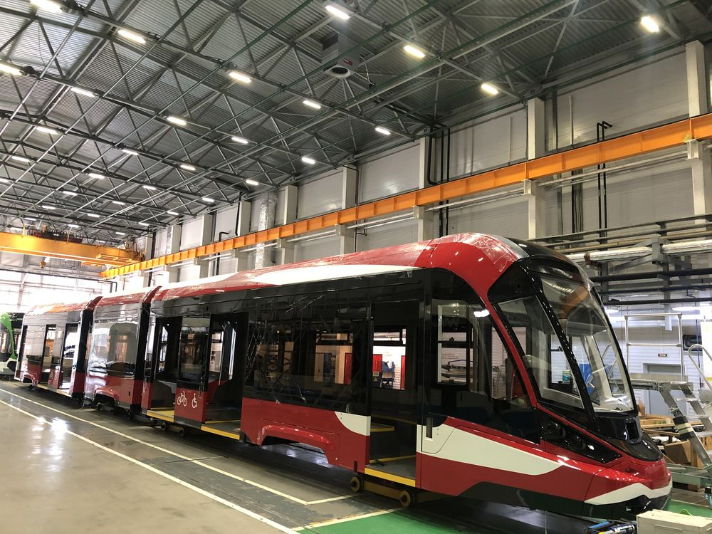 В Твери сделали первый в России алюминиевый трамвай - новости Афанасий