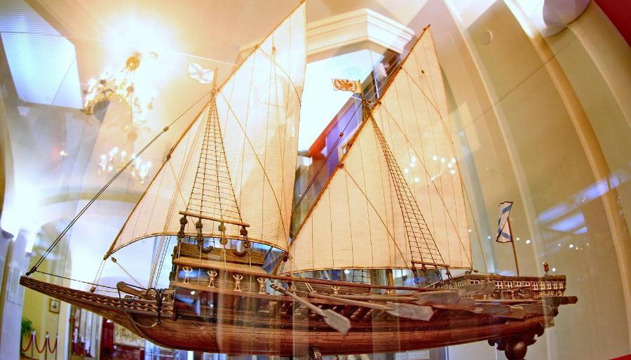 В Казани хотят реконструировать один из главных шедевров тверского судостроения - галеру, на которой путешествовала Екатерина II