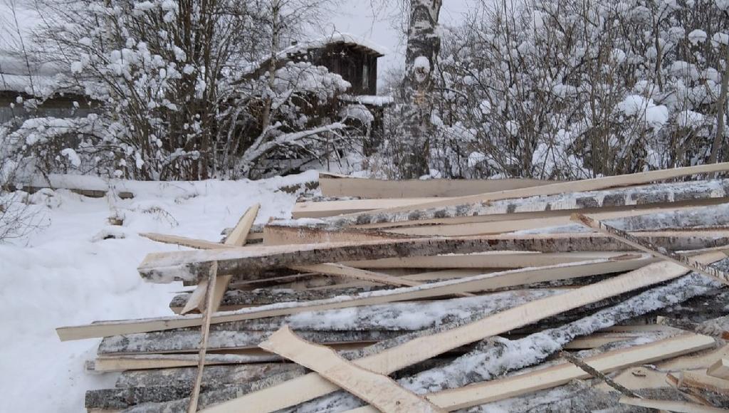 Замерзающей пенсионерке в Лихославле привезли запас дров - новости Афанасий