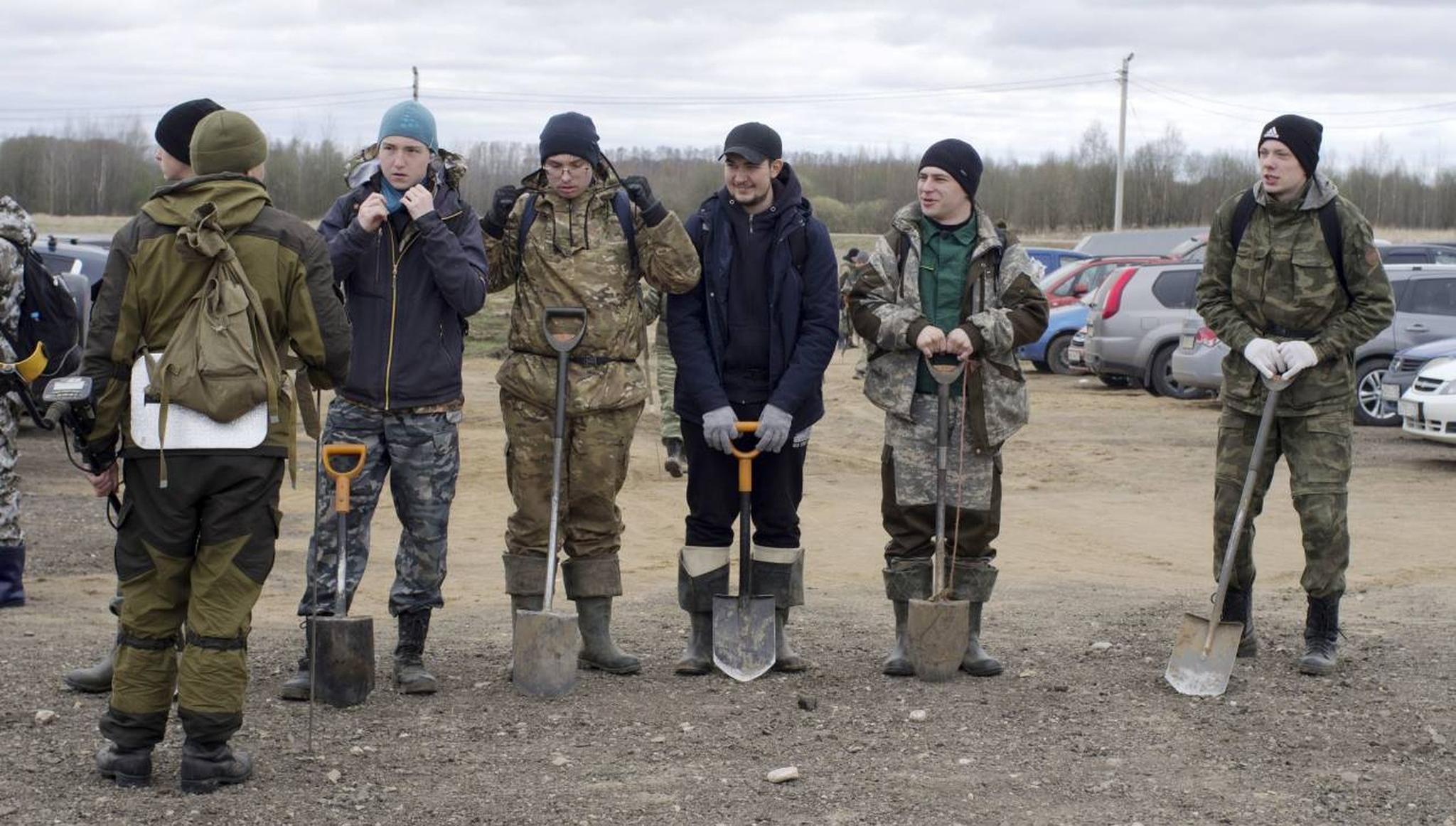Участники экспедиции «Ржев. Калининский фронт» в Тверской области подняли останки 217 красноармейцев