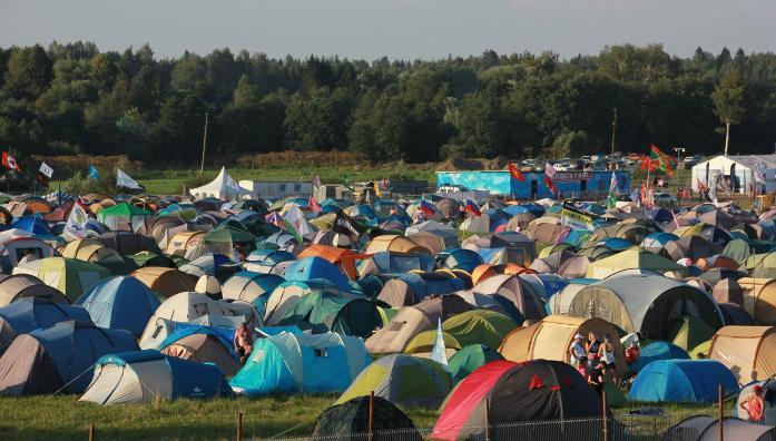 На «Нашествии» в этом году можно будет заселиться в палаточные гостиницы