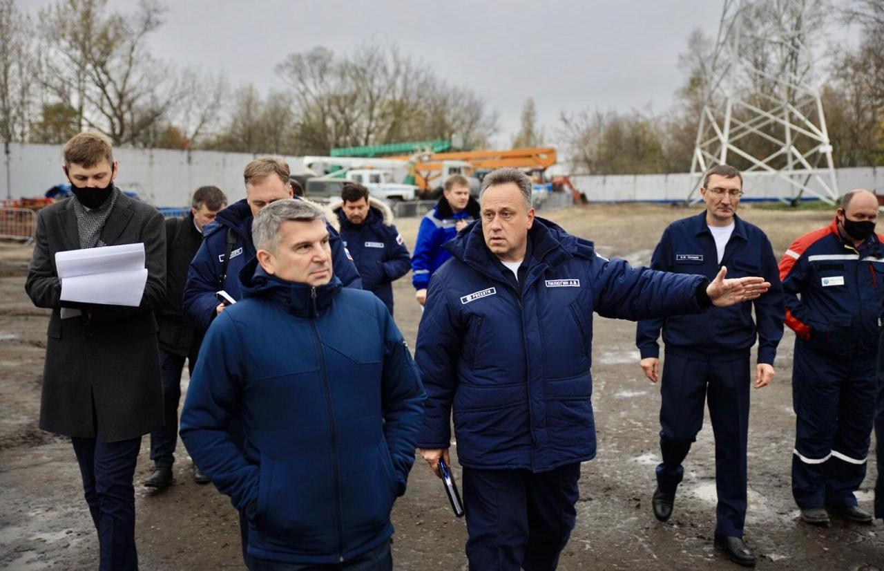 Генеральный директор «Росcети Центр» Игорь Маковский посетил с рабочим визитом Тверскую область  - новости Афанасий