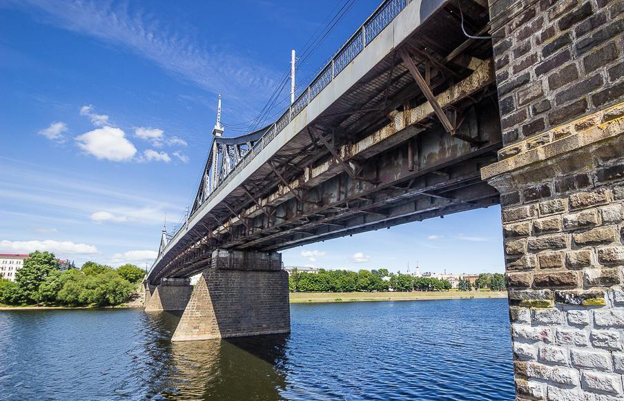 В Твери могут сделать пешеходным Старый мост через Волгу - новости Афанасий