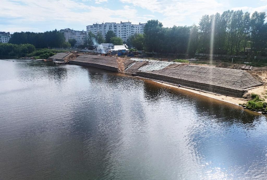 В Твери строят два объекта для занятий греблей