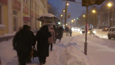В Твери из-за снегопада отменяются занятия в вузах