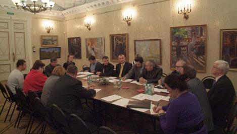 Подрядчики обсудили вопросы реставрации Императорского дворца в Твери