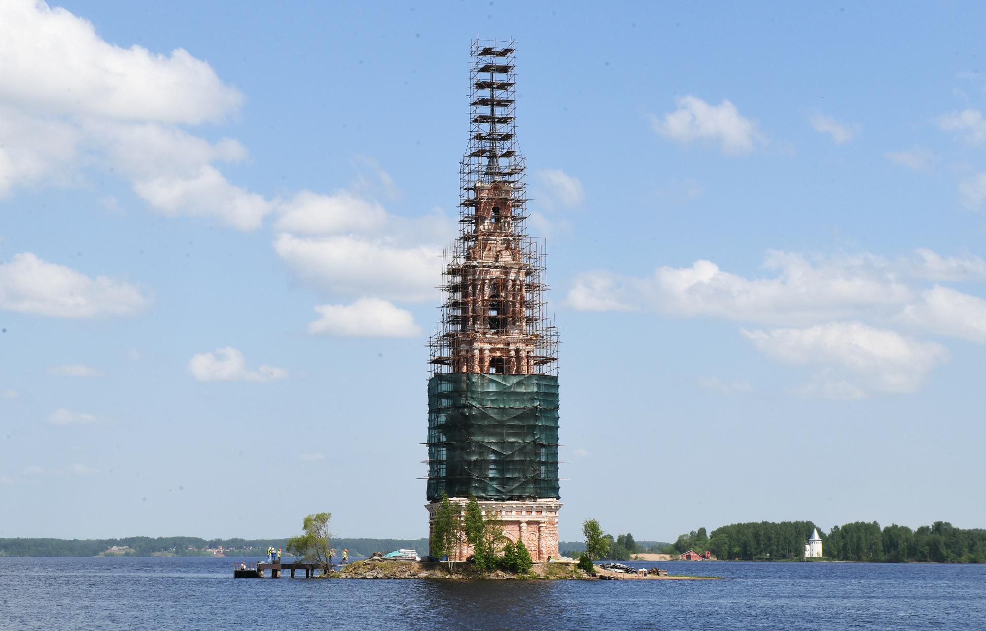 На колокольню в Калязине проложат оптоволокно для обеспечения высокоскоростного интернета и создания зоны wi-fi