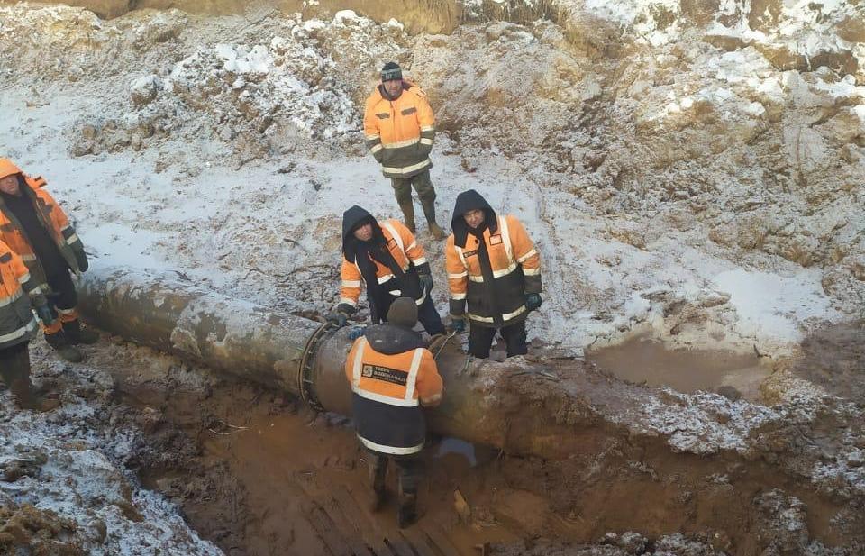 В Твери отремонтировали поврежденный водовод  - новости Афанасий