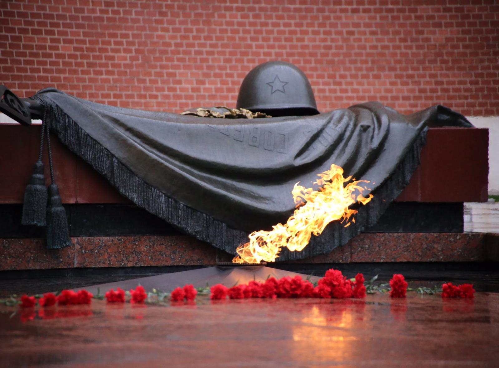 В Тверскую область привезут пламя от Вечного огня с могилы Неизвестного солдата