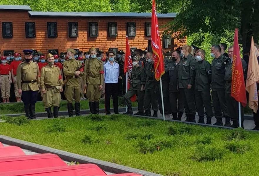Волонтеры Кимрского района Тверской области смогли найти родственников красноармейца, погибшего в бою под Москвой
