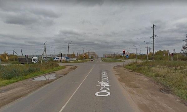 Жители Твери требуют от чиновников и бизнеса отремонтировать светофор на аварийном перекрестке в Брусилово