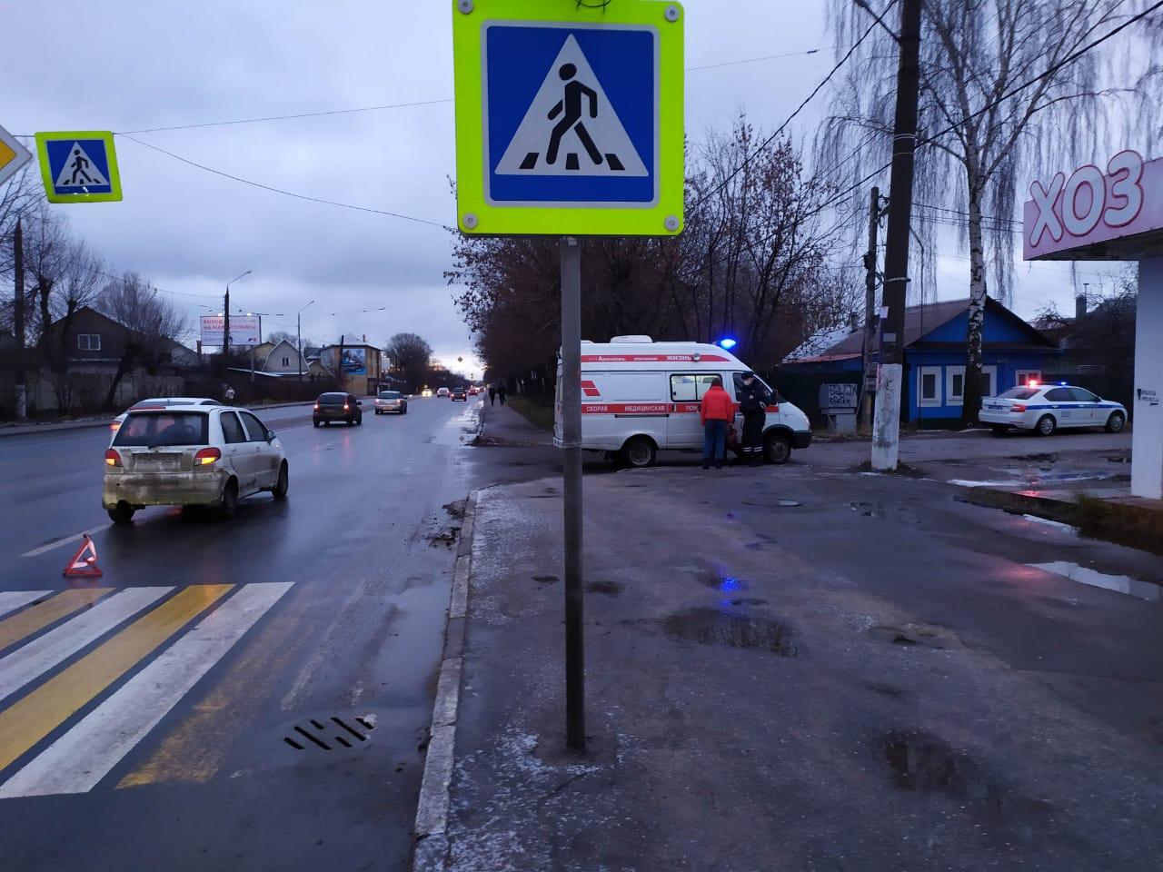 В Твери водитель Daewoo Matiz сбил 19-летнего пешехода - новости Афанасий